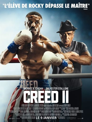 creed 2 affiche cinemashow