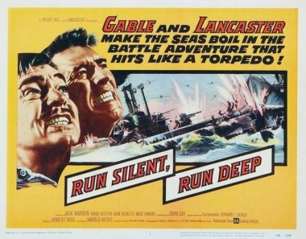 run silent run deep poster cinemashow