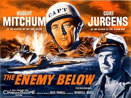 the enemy below poster cinemashow