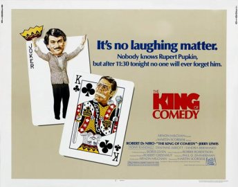 king of comedy scorsese affiche cinemashow