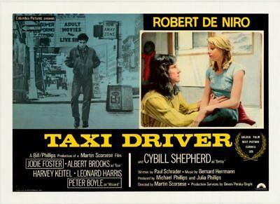 taxi driver affiche cinemashow
